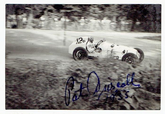 Pat Driscoll Autographs Robert Saunders